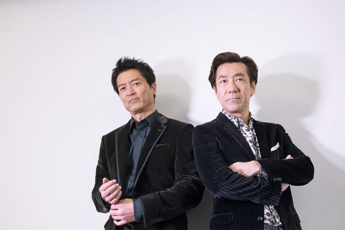 寺脇康文さんと岸谷五朗さん